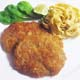 BREADED PORK CHOP - With Homemade Fettuccine