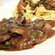 VEAL SCALOPPINE with MARSALA WINE - Arcobaleno Italian Food Menu