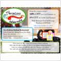Arcobaleno's Special Promotion - Save Up To 10% Internet Special Coupon 2010