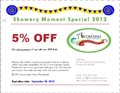Arcobaleno's Special Promotion - Save 5% Internet Special Coupon 2012