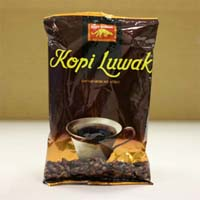 "Ground Kopi Luwak ""sweet, smooth, rich flavor coffee"